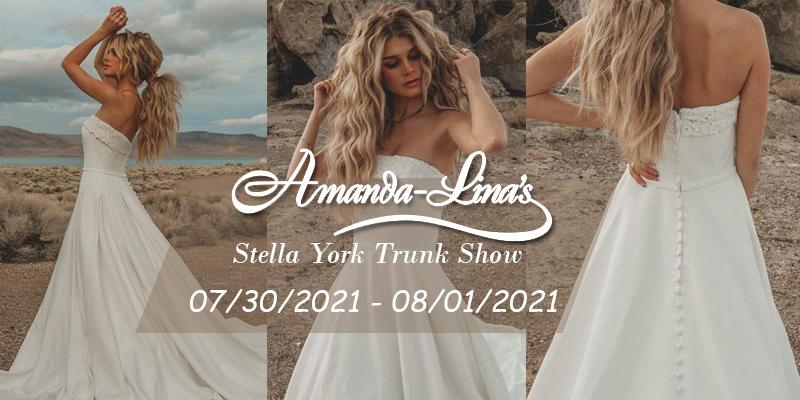 Stella York Trunk Show!